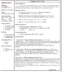 Resume Format Free Simple One Page Resume Format Free Download Over 100 CV And 49