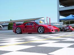 The center pipe was designed to exhaust gases from the turbochargers' wastegates. 1989 1994 Ferrari F40 Lm Top Speed