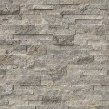 ledge stone silver travertine