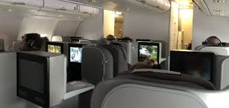 Flight Review Iberia Business Class Airbus A330 Chicago To