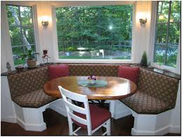 Kitchen Window Seat Window Seat Kitchen Table With Bench Tagged With Comfortable