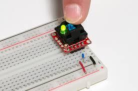 cherry mx switch breakout hookup guide learn sparkfun com Custom Mechanical Keyboard Wiring Diagram breadboard test circuit Keyboard PS 2 Pinout