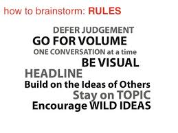 Brainstorming With Rules