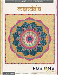 Mandala Quilt | Textillia | Online sewing community and database & Mandala Quilt Adamdwight.com