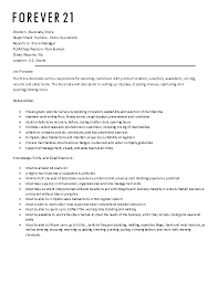Forever 21 Resume Sample Best of Careers Legends Outlets Kansas City Outlet Mall Deals