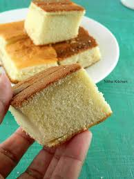 Hot Milk Sponge Cake Recipe With Eggless Option Step By Step
