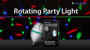 Paradise 2 In 1 Rotating Party Light Rotating Party Light