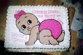 Baby Shower Cake Ideas Girl S Ba Betseyjohnsonshoesus