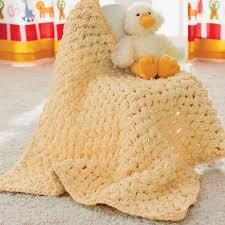 Bernat Baby Blanket Yarn Patterns Adorable Bernat Puffy Baby Blanket Yarnspirations