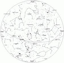 Monthly Sky Chart The Sky In January Norwich Astronomical Society