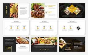 Food Presentation Template Food Presentation Powerpoint Template