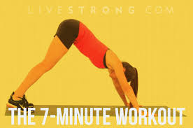 the 7 minute cardio sculpting workout