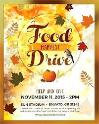 Shoe Drive Flyer Template Canned Food Drive Flyer Template Metabots Co