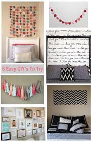 homemade wall decoration ideas for bedroom diy painting room decor
