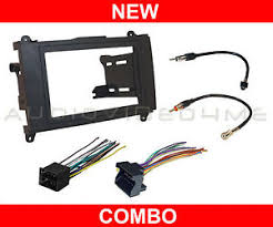 dodge sprinter radio dodge sprinter van radio stereo dash mounting install kit wire harness adapter