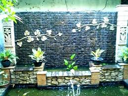 elegant pool waterfall or wall waterfalls indoor water fountains how to build a cost amazing for