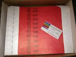 Бумажные контрольные браслеты tyvek Объявление в разделе Услуги в  Бумажные контрольные браслеты tyvek