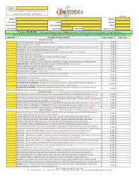 Formato De Cotizacion En Excel Descargar