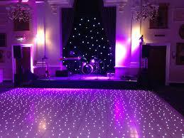 20ft x 20ft white led starlit le dance floor