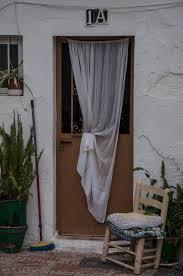Window Treatments Metal Doors Brown Metal Door And White Curtain Free Image Peakpx