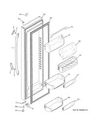 parts for ge dsf25kgtabg refrigerator appliancepartspros com 02 fresh food door parts for ge refrigerator dsf25kgtabg from appliancepartspros com