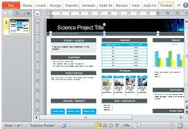 Science Fair Powerpoint Templates Science Fair Powerpoint Template Magdalene Project Org