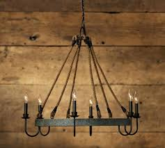 chandeliers chandelier candle french barrel napa wine barrel chandelier pottery barn barn house model 33