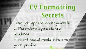 How To Keep Your Cv Format 2018 Fresh Resume 2018