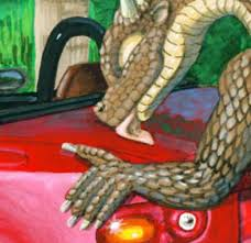 dragons having with cars know