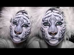 lion makeup face painting tutorial you kitty paint mime