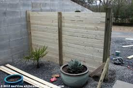 DIY Modern Wood Fence and Gate Courtyard Edition myMCMlifecom
