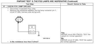 fog light wiring diagram no relay solidfonts wiring diagram for fog lights relay the