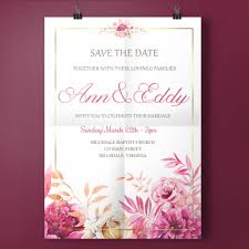 Free Download Wedding Invitation Templates Wedding Invitation Templates Png Vectors Psd And Clipart For Free