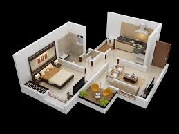 One Bedroom Flat Design One Bedroom House Apartment Plans Home Design