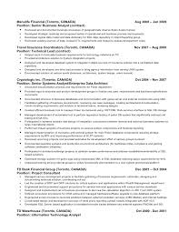 Business Analyst Resume Canada Sample Business Analyst Resumes This