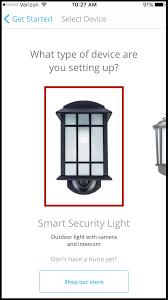 Kuna Maximus Smart Security Light Setting Up Your New Smart Security Light Kuna Help Center