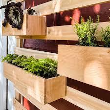 diy vertical garden wall planter with