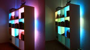 lighting bookshelves. beautify your bookcases with custom colourchanging lights lighting bookshelves