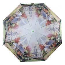 <b>Зонт MAGIC RAIN</b> 4333-1601 Усадьба, полуавтомат, 3 сложения ...
