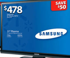 tv walmart. 51-inch plasma tv deal in walmart black friday 2012 ad is a disappointment tv