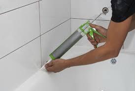 silicone gel around bath