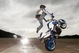mattie griffin s f800r stunt bike youtube