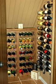 under stairs wine storage wine closet ideas simple wooden wine cellar under stair ideas smart utilization under stairs wine storage