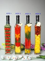Decorative Vinegar Bottle Decorative Vegetable Filled Bottles Decorative Vegetable Filled 21