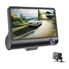 <b>Car</b> DVR Camera 4.0<b>in</b> 3 Way Lens Video Driving Recorder Rear ...