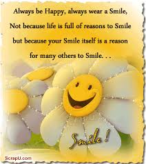 Always be Happy always wear a Smile quote sun happy smile Magnificent Always Smile Quotes