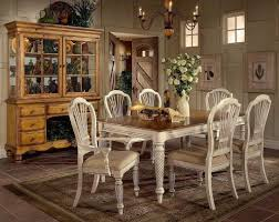 rustic dining room hutch. Dining Room: White Vintage Rustic Room Table And Chairs With Hutch - Wood