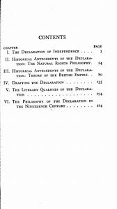 the declaration of independence a study on the history of  title page 0034 toc