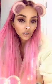 pink lemonade hair is the internet s