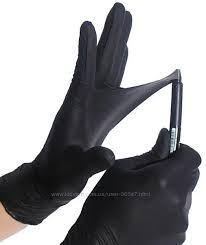<b>Перчатки</b> плотные черные <b>нитриловые</b> L и M, 7 грн. Другое ...